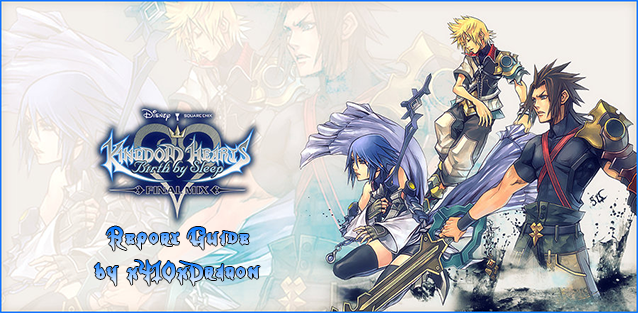 Kingdom hearts birth by sleep report guide playstationtrophies banner by ryukori voltagebd Choice Image