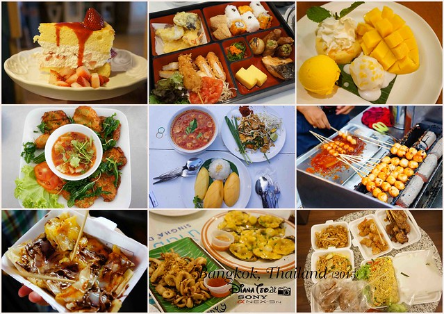 Foods around Hua Hin & Bangkok 2015