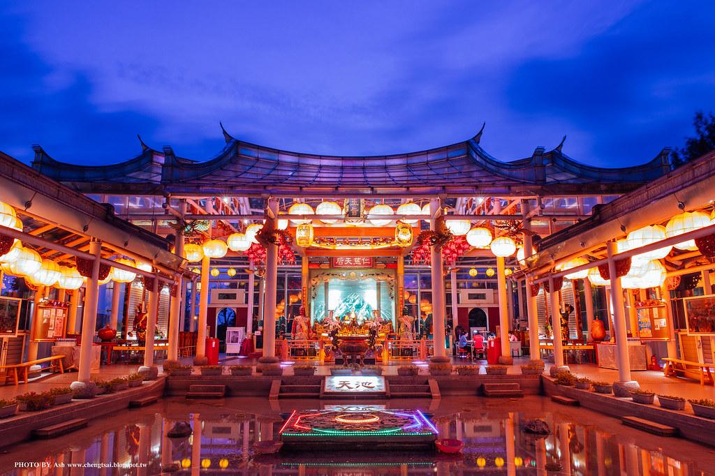 鹿港 - 玻璃媽祖廟.天池