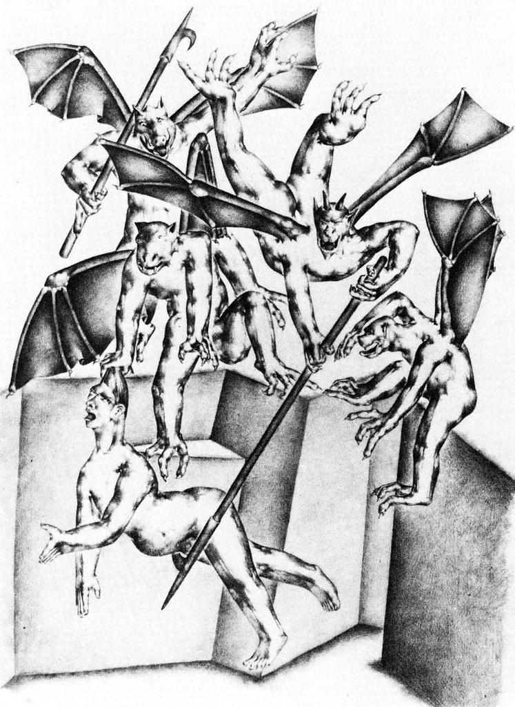 Otto Neumann - Divine Comedy (Devis with Barrator) 1927-28