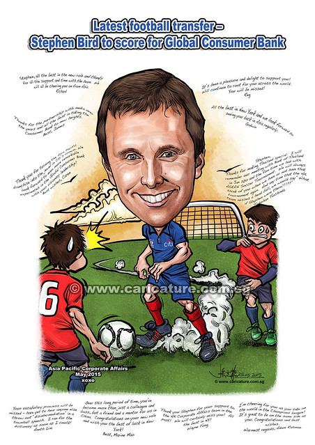 soccer boss caricature for Citibank (watermarked)