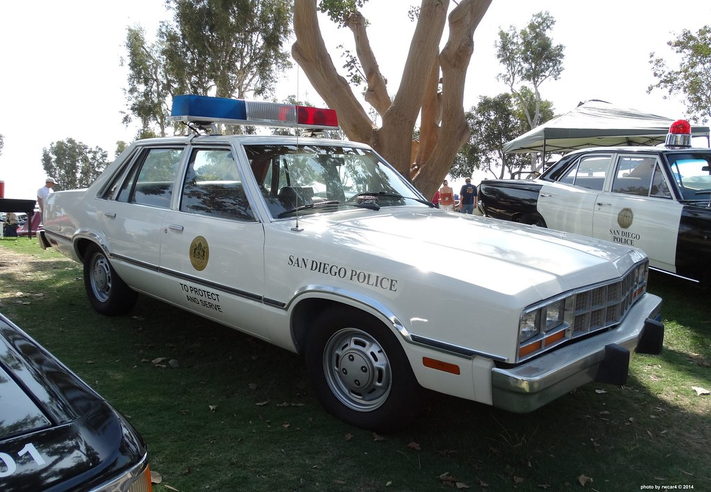 san diego ca police - 1982 ford fairmont (restored) | flickr