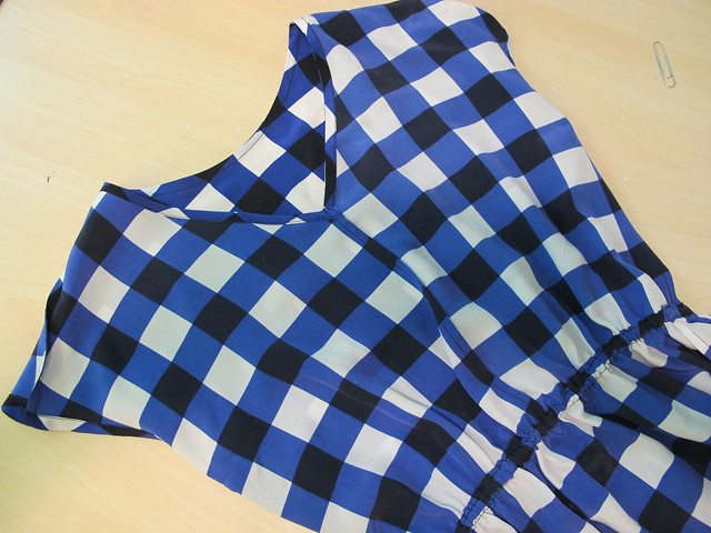 Plaid Silk V1395