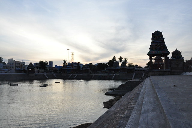 Praised by saint-poet Appar Tirunavukkarasar Nayanar of the 17th century, Mahamaham tank's sanctity has made it a place of pilgrimage for people across the country. Every 12 years, the Mahamaham festival is celebrated on its banks with fervour and faith.