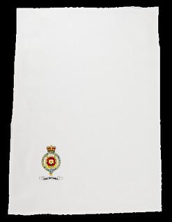 HMY Britannia tea towel