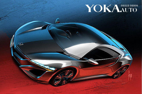 Honda will launch at the Geneva Motor Show the Orthodox NSX