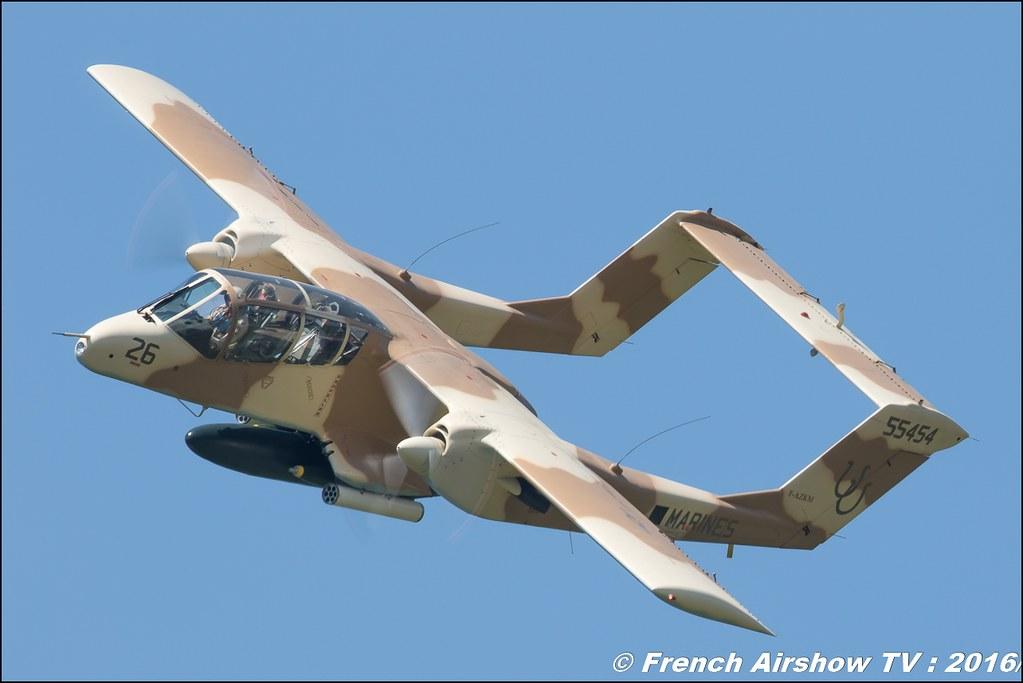 OV-10 Bronco montelimar , F-AZKM , Alain Bes , North American OV-10 Bronco , Grenoble Air show 2016 , Aerodrome du versoud , Aeroclub du dauphine, grenoble airshow 2016, Rhone Alpes