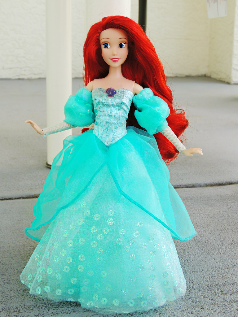 Custom Disney Parks Ariel Dress | I purchased one of the lit… | Flickr