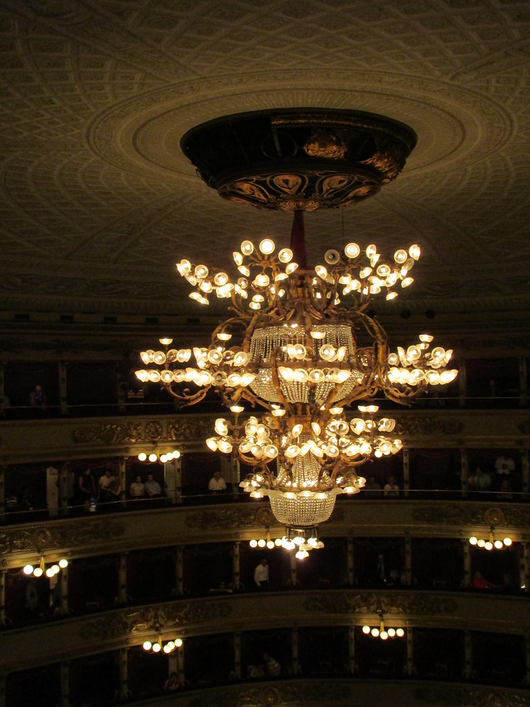 Chandelier and other lights La Scala opera house Milan – La Scala Chandelier