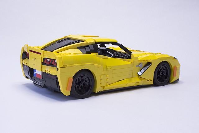 Corvette Stingray 1969 >> LEGO Stingray Corvettes capture all the details | The Brothers Brick | The Brothers Brick