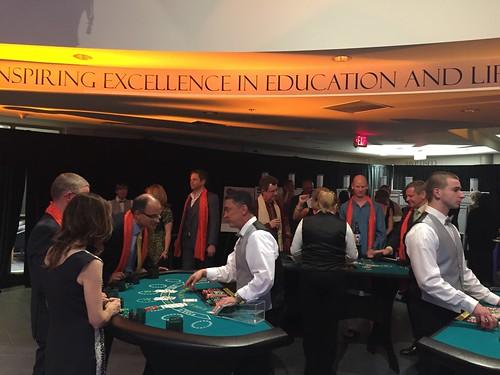 Casino games at the Mulgrave gala