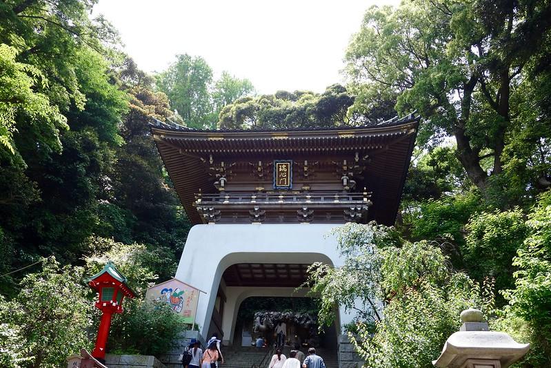 江の島神社入口の瑞心門