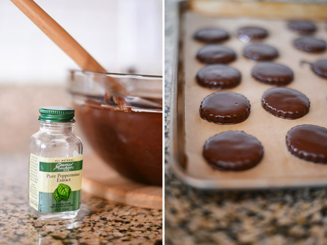 homemade-thin-mints-chocolate-coating