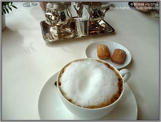 קפה ועוגיות מדלן ב-Fischers Fritz
