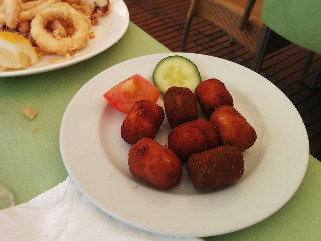 Las Palmas de Gran Canaria | La Oliva Restaurante | Croquetas
