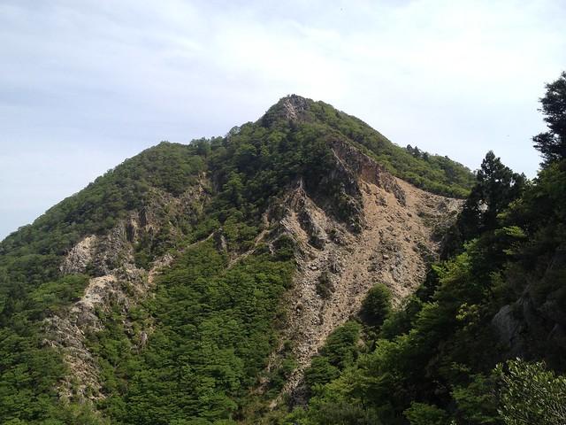 鎌ヶ岳 武平峠ルートより