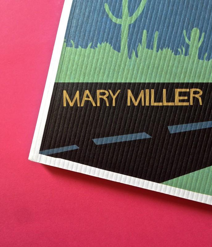 Last days of California, di Mary Miller. ClichY 2015. Progetto grafico e illustrazioni di Raffaele Anello. Copertina (part.), 3