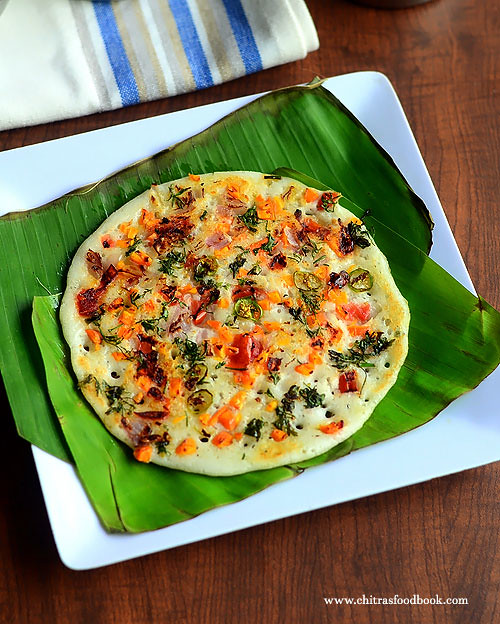 Vegetable dosa recipe