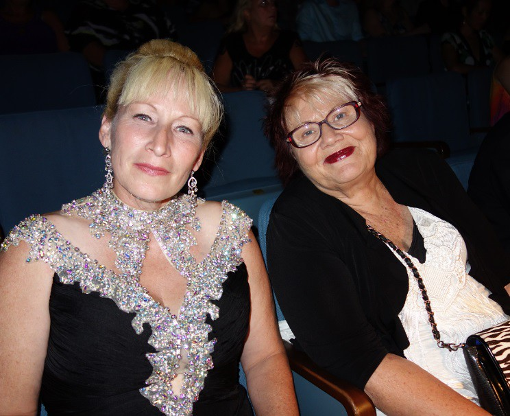 Angelina MacDonald and Maureen Moe