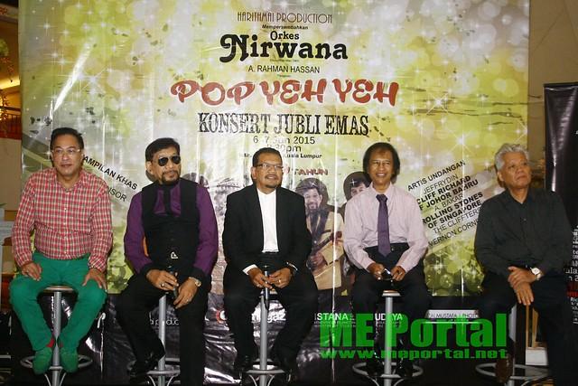 Konsert 50 Tahun Orkes Nirwana Di Istana Budaya