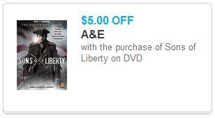 Sons of Liberty DVD Printable Coupon