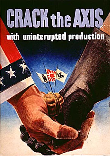 World War II Poster - Crack The Axis
