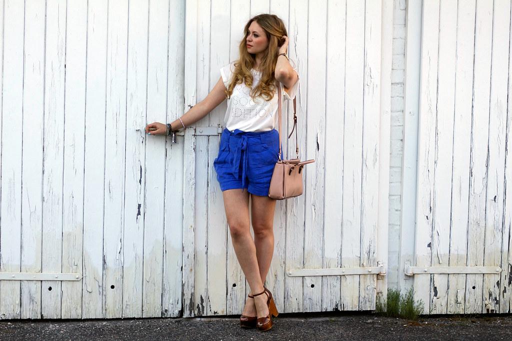 soccx shirt H&M conscious blue shorts summer