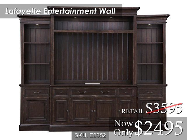 Lafayette Entertainment Wall