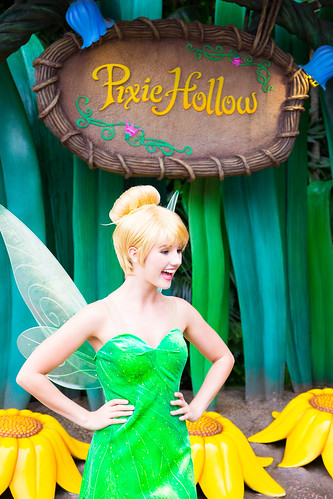 And... Tinker Bell!?