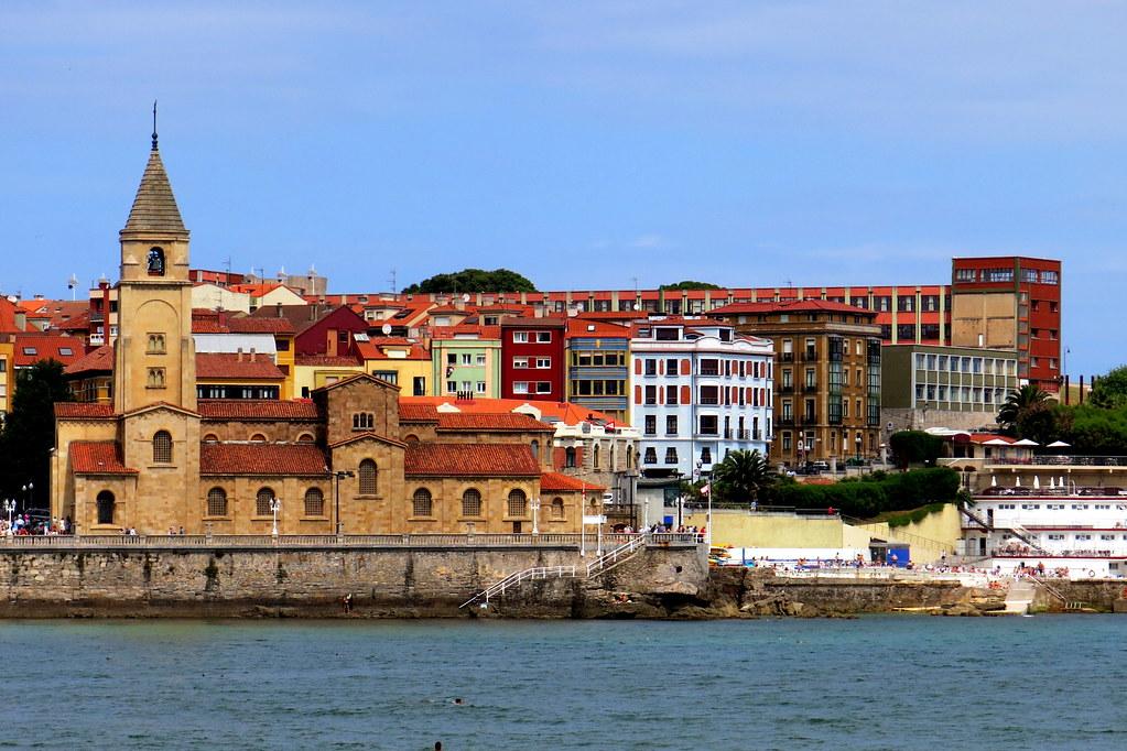 san Pedro en Gijón