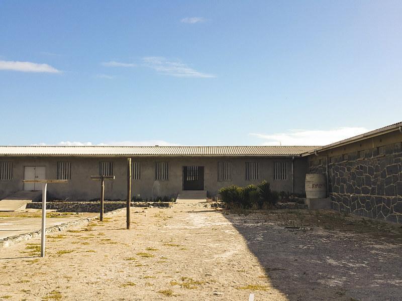Robben Island yard