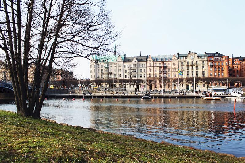Vår i Stockholm.