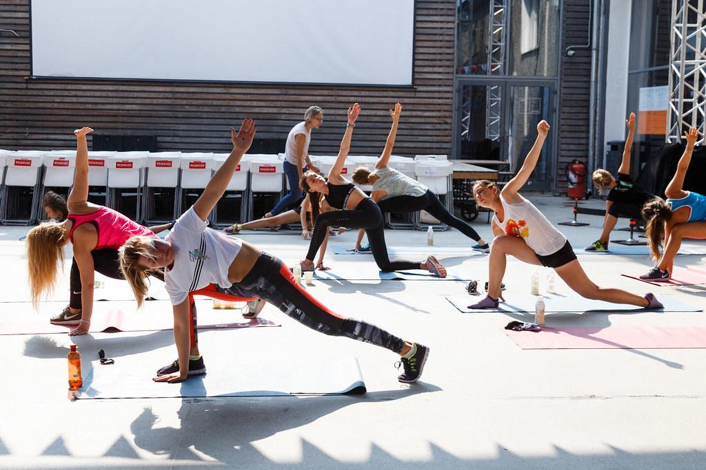 daybreaker sport party  aerobics