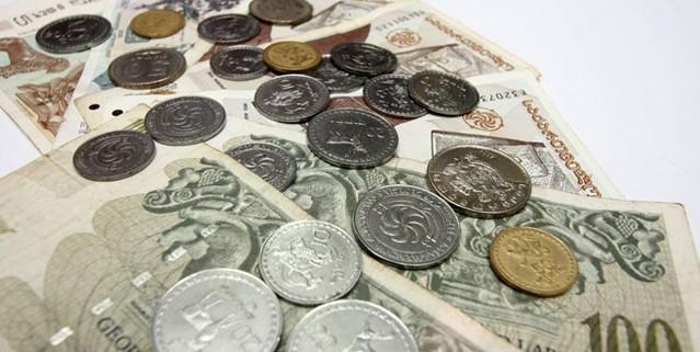 Billetes y monedas de Georgia (Lari/GEL)