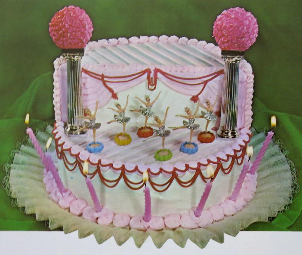 Wilton Ballerina Birthday Cake 1960s Heather David Flickr
