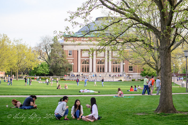 Spring Time on the Quad