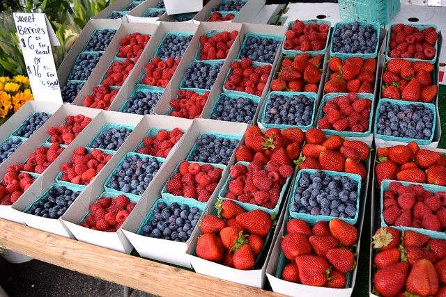 California Berries at Venice Beach Farmers Market
