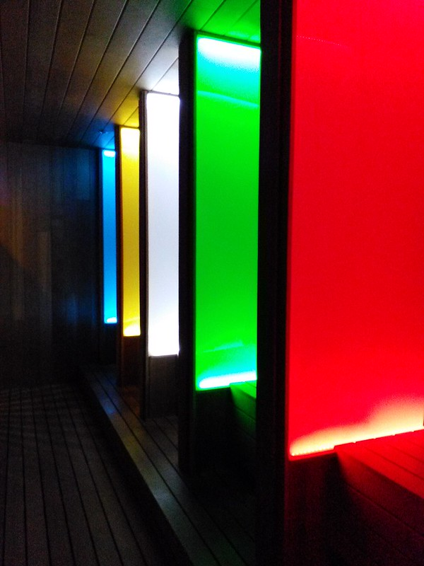 Colory Therapy Sauna - Texas Spa Castle - LED Light Sauna