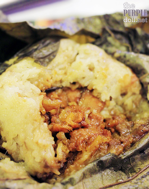 Glutinous Rice in Lotus Leaf (P190)