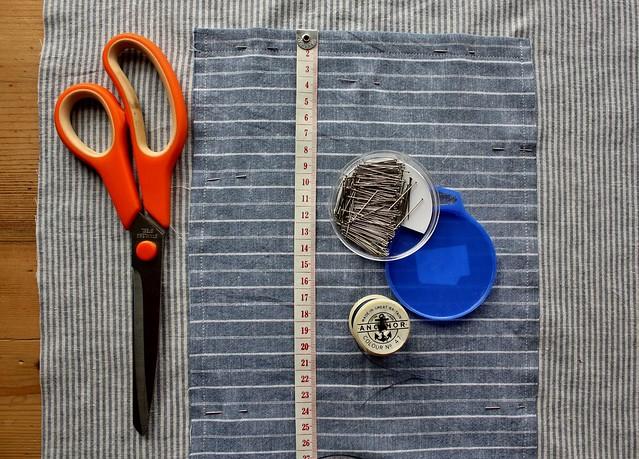 found & sewn