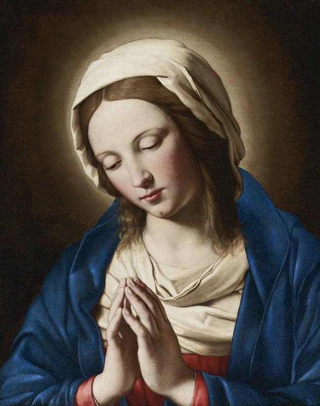 Giovanni Battista Salvi, called Sassoferrato - Madonna at prayer