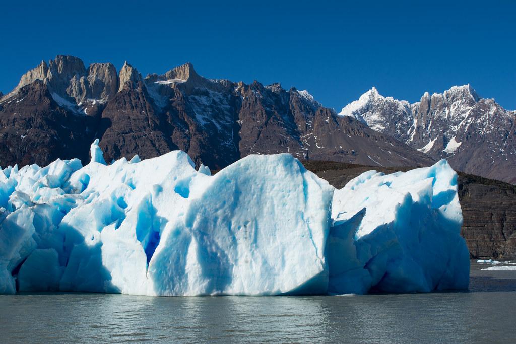 The splendor of Grey Glacier in Torres del Paine!