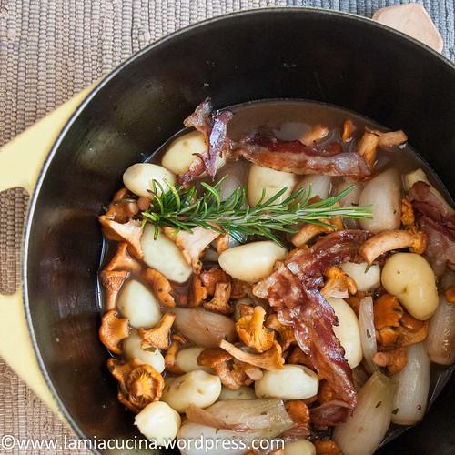 Kartoffeln mit Pfifferlingen 2016 07 17_1610