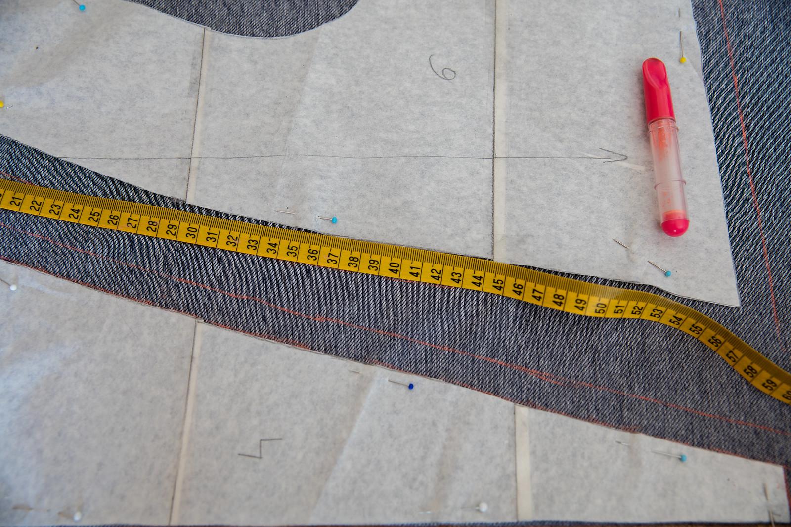 Zapas na szew 1,5cm