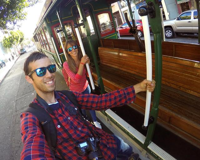 En el tranvía de San Francisco, una de esas cosas imprescindibles que hacer en la Costa Oeste de EEUU