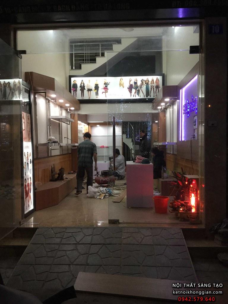 thiết kế shop thời trang Suly tại hạ long