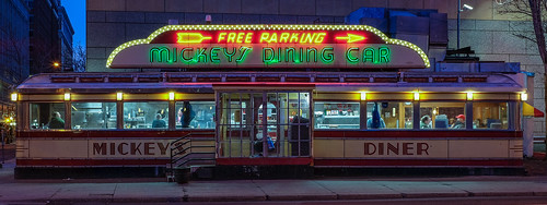 Mickey's Diner, 6:15am | by Mac H (media601)