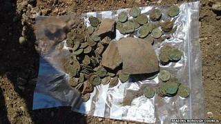 Reading Roman Coin Hoard