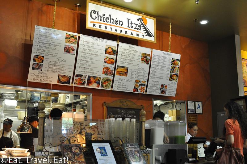 Chichen Itza Restaurant (Mercado La Paloma)- Los Angeles (University Park), CA: Storefront