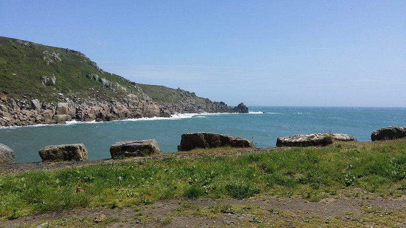Lunch spot at Lamorna Cove #SWCP #sh